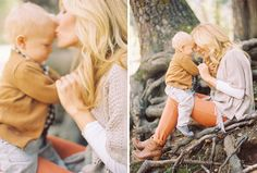 love ♥ would be sweet to recreate this with my little man at our fall family pictures  | followpics.co