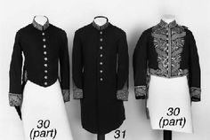 victorian military jackets - listed on Christie's auction