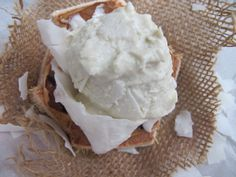 Absolutely Beautiful RAW Coconut Icecream