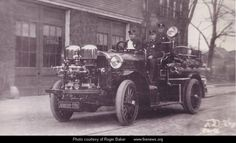 A rare Ahrens-Fox, a 1913 model delivered to the Lynn, MA FD