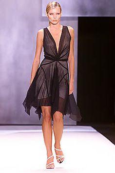 Donna Karan Spring 2001 Ready-to-Wear Fashion Show - Esther Cañadas, Donna Karan