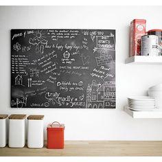 Wall Art Decal - Chalk Board 200cm x 45cm - Peel