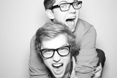 oh my gosh!! i love these two guys so much! they are apart of the show The Glee Project and they are so amazing!