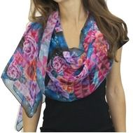 Abstract Bouquet Scarf Life style thumbnail