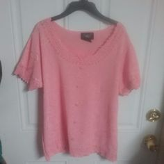 O.M.G. collection womens  pink top  size M #OMG #BasicJacket