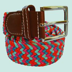 Multi Coloured | Woven Belt | Elasticated Fabric | Bassin and Brown – Bassin And Brown Stretch Belt, Woven Belt, Brown Belt, Woven Fabric, Mint Green, Pink And Green, Brown And Grey, Belts, Color