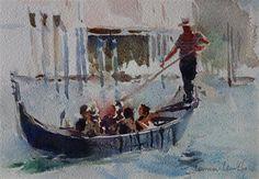 "Daily Paintworks - ""Gliding"" - Original Fine Art for Sale - © Lorraine Lewitzka"