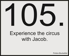 Experience the circus with Jacob.