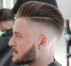Comb Over Medium Length Mens High Skin Fade Haircut Mens Hairstyles 2016, Mens Modern Hairstyles, Trendy Mens Haircuts, Side Part Hairstyles, Trending Haircuts, Undercut Hairstyles, Cool Haircuts, Cool Hairstyles, Men's Haircuts