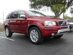 2014 Volvo XC90 - Flaminco Red