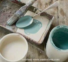 Milk painted furniture