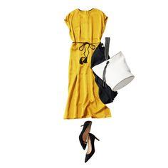 大人のワンピースコーデ Photo Gallery | Web eclat | Jマダムのための50代ファッションサイト