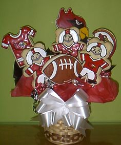 Cookie Bouquets, cookie arrangements www.cookiesinbloom.com  Starting at $45