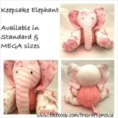 Stuffed Animals made out of baby clothes