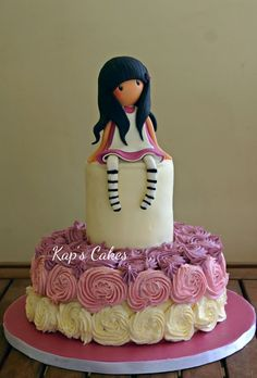 Gorjuss Girl Cake on Cake Central Art Party Cakes, Cake Art, Gorgeous Cakes, Amazing Cakes, Housewarming Cake, Cake Decorating Company, Barbie Cake, Gateaux Cake, Maila