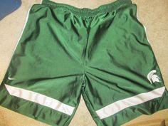 Michigan State Spartans Nike Authentic Basketball Shorts - Size Adult 2XL   Sports Mem, Cards & Fan Shop, Fan Apparel & Souvenirs, College-NCAA   eBay!
