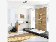 Bathroom with Spa - Home and Garden Design Idea's
