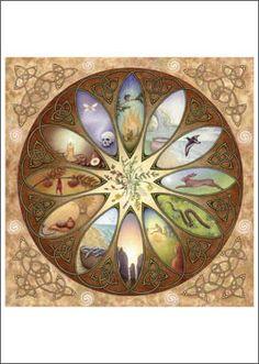Celtic Calender by Meraylah Allwood