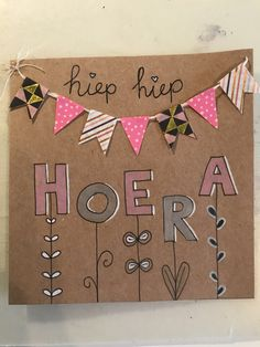 Handmade Birthday Cards, Pretty Pictures, Party Time, Art Drawings, Diy And Crafts, Happy Birthday, Doodles, Scrapbook, Homemade