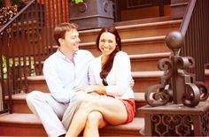 Samantha + Mark's Brooklyn Heights Engagement Shoot | Merci New ...