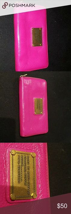 Marc Jacobs wallet Hot pink wallet Marc Jacobs Bags Wallets