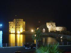 Saida, south Lebanon, sea castle