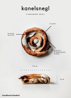 Every Danish Pastry You Need to Try in Copenhagen - Kanelsnegl - Cinnamon Snail