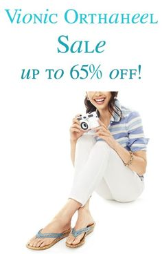 Vionic with Orthaheel Shoes and Sandals Sale: up to 65% off!