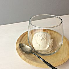 AIP Salted Caramel ice Cream - this is a winner. So delicious and creamy. Perfect real ice cream texture and consistency.