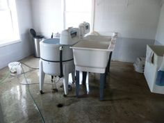 amish home interior pictures | ... washing machine from an ohio old order amish home basements in amish