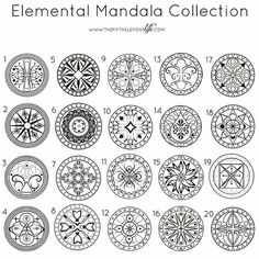 Elemental Madala Collection