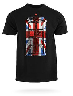 Union Jack TARDIS Follow Me