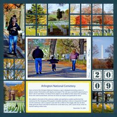 Beautiful Fall Mosaic scrapbook page. Love the colors! Navy Blue is surprisingly fitting with the fall photos. Click to view the FREE scrapbook template for this Mosaic Moments layout.