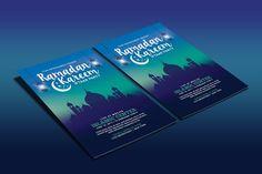 Ramadan Kareem Iftaar Party Flyer by muhamadiqbalhidayat on @creativemarket