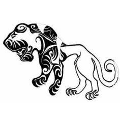 Scythian tattoo chieftain Lion design