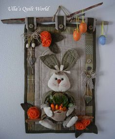 Easter bunny couette: Quilt Monde Ulla