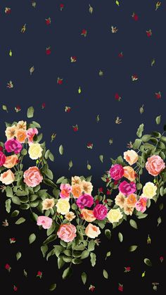 New wallpaper, flower wallpaper, wallpaper for your phone, wallpaper back. Rose Flower Wallpaper, Vintage Flowers Wallpaper, Flowery Wallpaper, Ocean Wallpaper, Print Wallpaper, Cute Wallpaper Backgrounds, Cute Wallpapers, Cellphone Wallpaper, Iphone Wallpaper