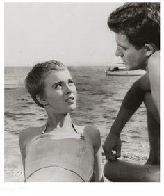 absinthemakeyouawhore:  Bonjour tristesse, 1958, by Otto Preminger.