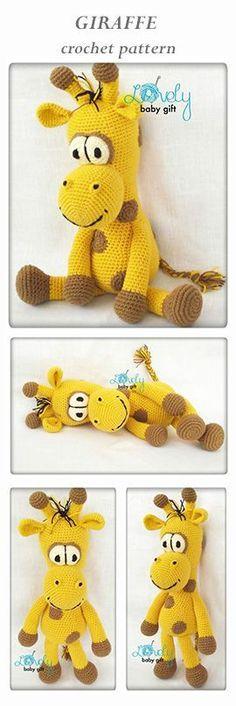 amigurumi pattern, giraffe crochet, safari animal crochet pattern, häkelanleitung, haakpatroon, hæklet mønster, modèle crochet