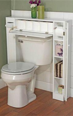 Almacenaje en baños pequeños/ Storage Ideas/ Small Bathroom