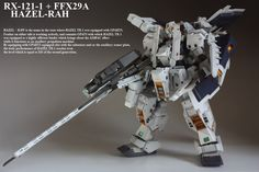 GUNDAM GUY: HGUC 1/144 RX-121-1 + FFX29A Hazel-Rah - Custom Build