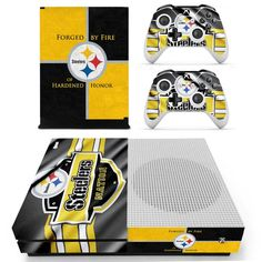 Pittsburgh Steelers NFL Xbox One Skin https://www.fanprint.com/licenses/pittsburgh-steelers?ref=5750