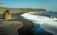 Beaches don't even have to be warm to be exciting, like Dyrhólaey, Iceland.   Community Post: 33 Incredible Beaches To Get You Stoked For Spring Break