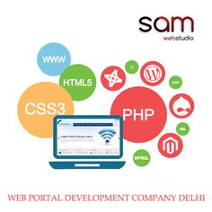 SAM Web Studio is a significant web portal development Company Delhi Gurgaon India, have expertise to developed education portal, travel portal, business portal, job portal, news portal at best possible market prices.  Please Visit:- http://www.samwebstudio.com/services/website-development-company/portal-web-development