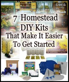 Making your own products to use around the house is what self sufficiency and homesteading is all about. But maybe your a little like me and sometimes it's hard to get started doing something new, well I've found when I try to do something for the first time it's a little easier to buy a ready to go kit.