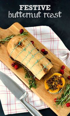 Recipe: Festive Butternut Roast (& what makes the ultimate vegetarian & vegan Christmas dinner?) - The Veg Space
