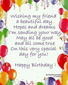 Make your best friend laugh on their birthday by using our list of funny Happy Birthday wishes, quotes and images to share with your male and female friends. Happy Birthday Wishes Friendship, Best Happy Birthday Quotes, Birthday Card Sayings, Birthday Blessings, Happy Birthday Pictures, Happy Birthday Fun, Funny Birthday, Happy Birthday Beautiful Friend, Happy Quotes