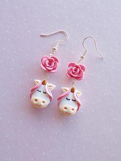 Unicorn oorbellen inspirerende cadeau voor vrouwen Unicorn