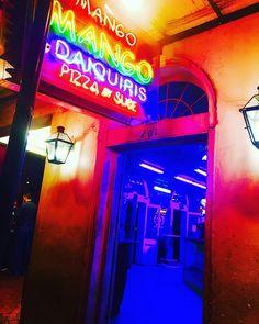 Mango. Mango. Late Night Adventures.  #burbonstreet #frenchquarter #neworleans #louisiana #art #artist #photo #photographer #photooftheday #brassband #instagood #instagram #mango by giannaveno