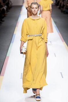 The Spring 2013 Runway Report - Color Theory - Fendi